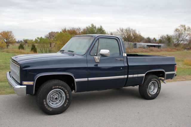 1982 Chevy Short Wide 4x4 With Ac Classic Chevrolet C K