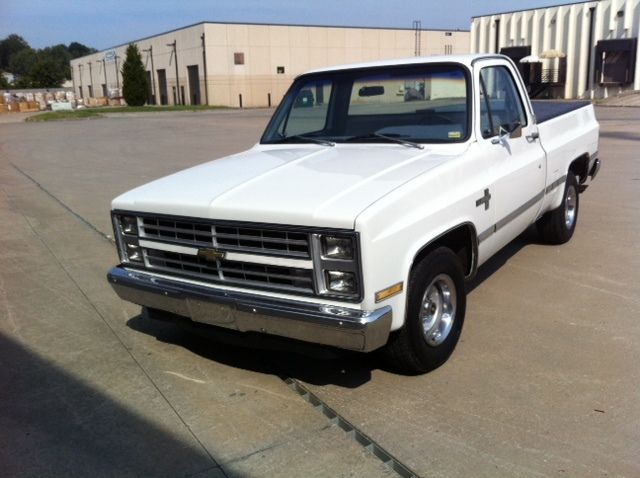 1982 Chevy Silverado 2wd Short Bed