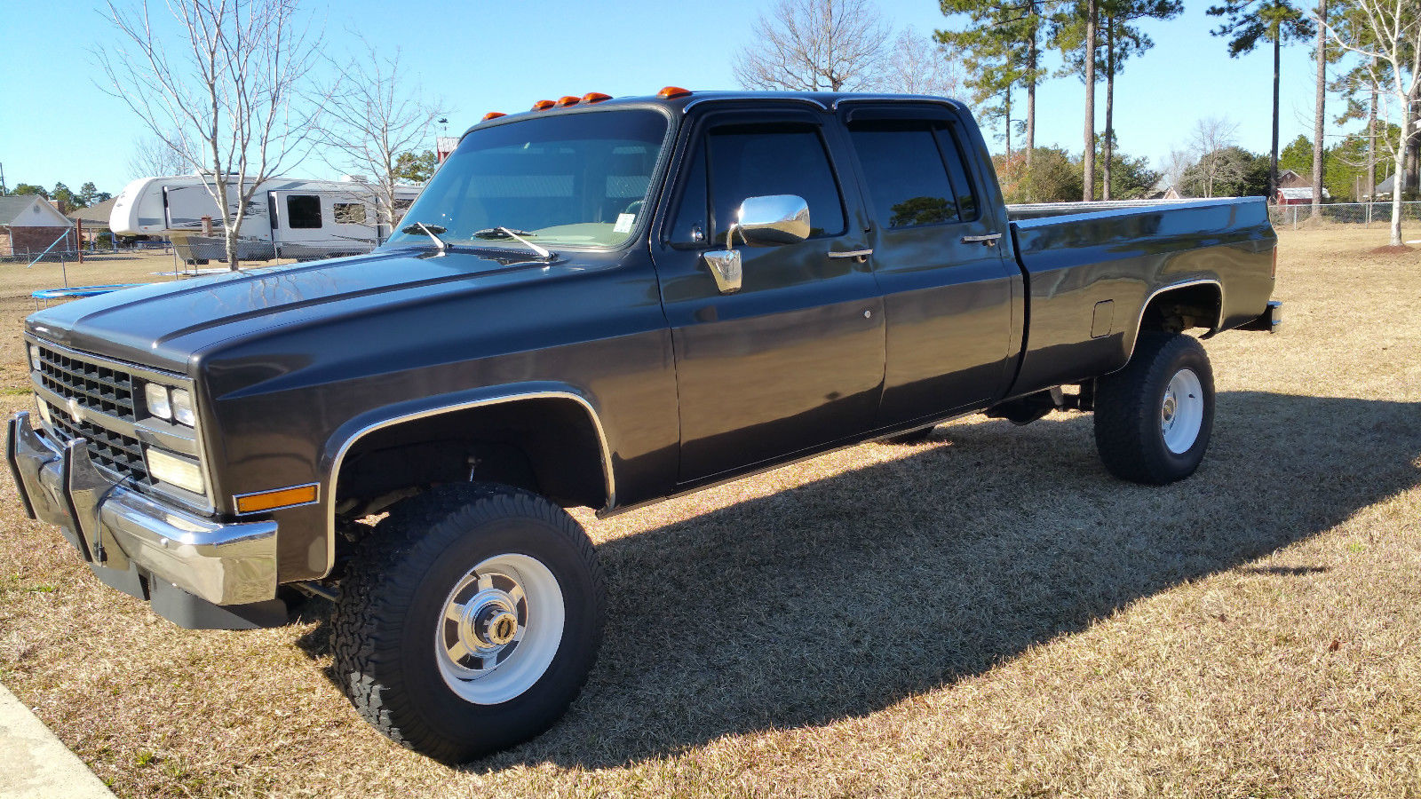 1982 chevy silverado 3500 crew cab long bed 4x4 truck classic chevrolet c k pickup 3500 1982. Black Bedroom Furniture Sets. Home Design Ideas