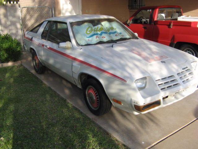 1982 Dodge Charger Omni 2 2 Hatchback Rust Free Arizona