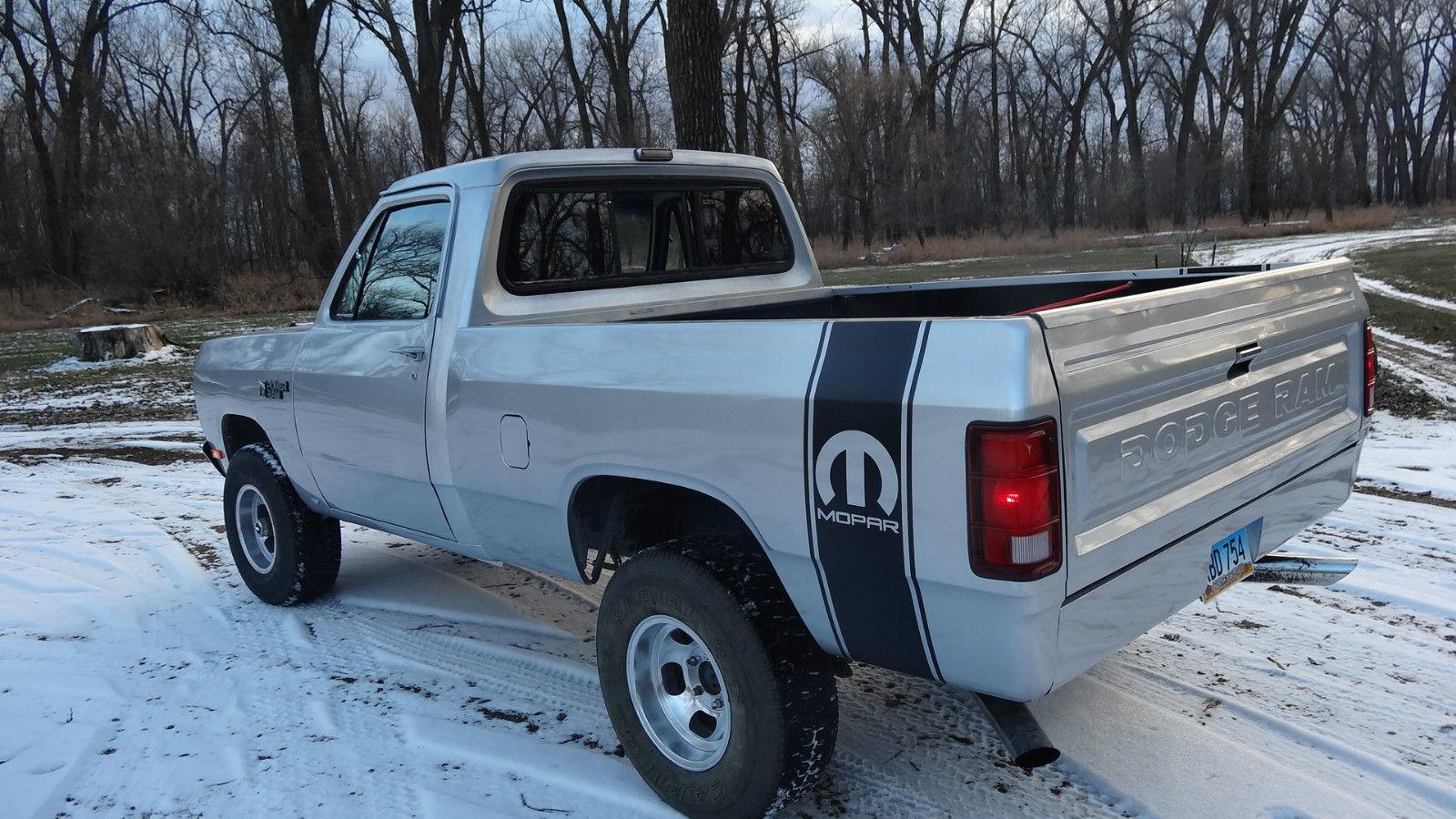1982 Dodge Pickup Power Ram Power Wagon Classic Dodge