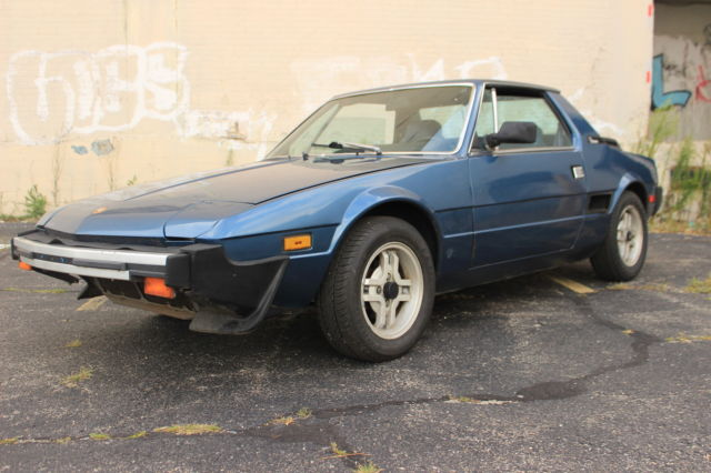 Used Cars For Sale Dayton Ohio >> 1982 Fiat X1/9 bertone, mid-engine 1500 5spd sportscar ...