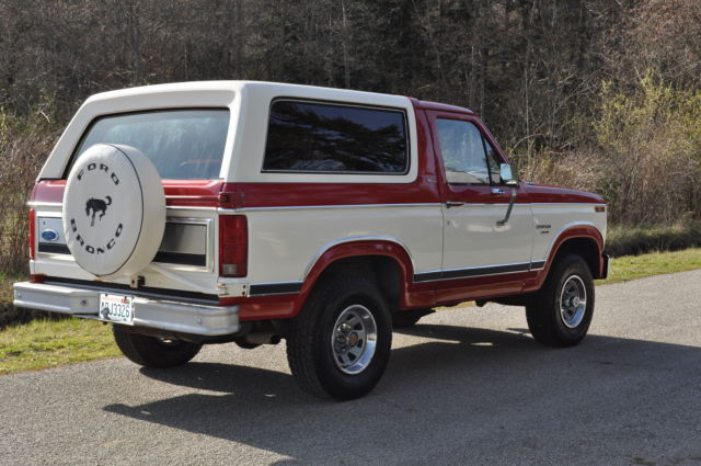 1982 ford bronco xlt larait 4x4 82k mi exceptional condition in out classic ford bronco 1982. Black Bedroom Furniture Sets. Home Design Ideas