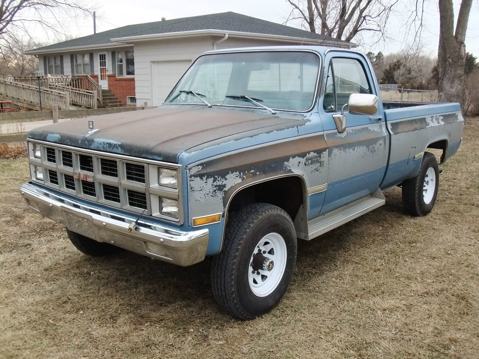 1982 gmc k2500 4x4 6 2l diesel oem paint 99 rustfree chevrolet c k pickup 2500 classic gmc. Black Bedroom Furniture Sets. Home Design Ideas
