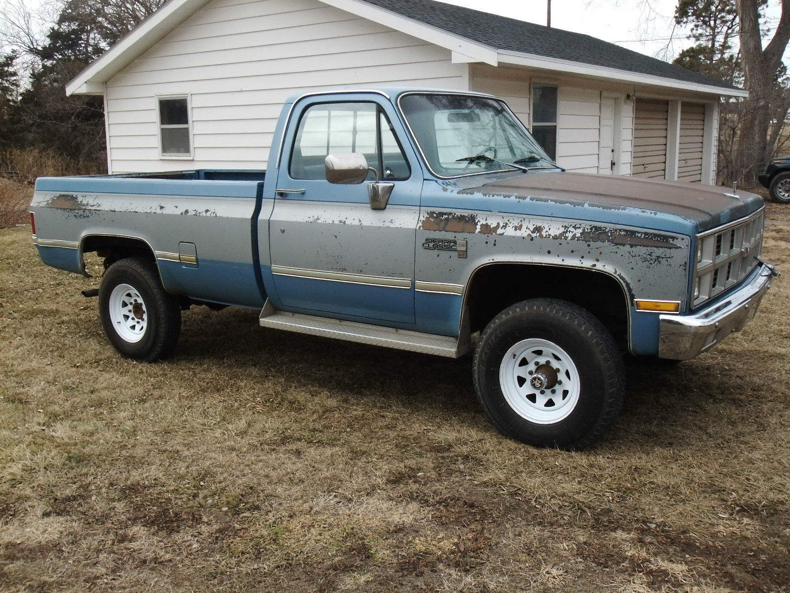 Chevy 2500 Diesel For Sale >> 1982 GMC K2500 4X4 6.2L DIESEL OEM paint 99% rustfree Chevrolet C/K Pickup 2500 - Classic GMC ...
