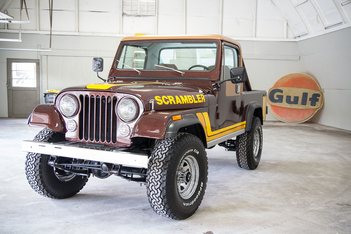 New Jeep Scrambler >> 1982 Jeep CJ-8 Scrambler (Fresh Frame Off Restoration) - Classic Jeep CJ 1982 for sale