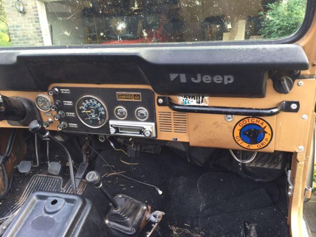 """Viewing Auction #260971645484 - 1982 JEEP CJ7 """"JAMBOREE"""" VERY RARE ..."""
