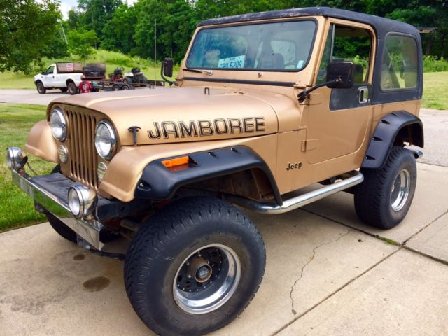 Viewing Auction #251186880294 - 1982 JEEP CJ7 JAMBOREE RARE 30TH ...