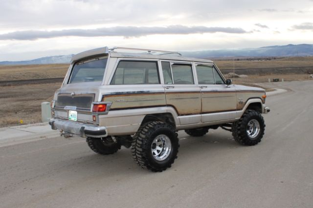 Jeep Grand Wagoneer For Sale >> 1982 Jeep Grand Wagoneer Limited, 4x4, lifted, Runs like a watch!!! NO RESERVE!! - Classic Jeep ...