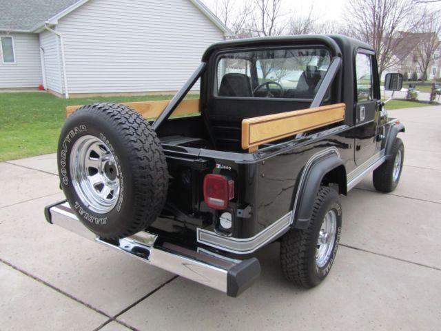 1982 Jeep Scrambler Cj8 Sl Laredo Triple Black Nice