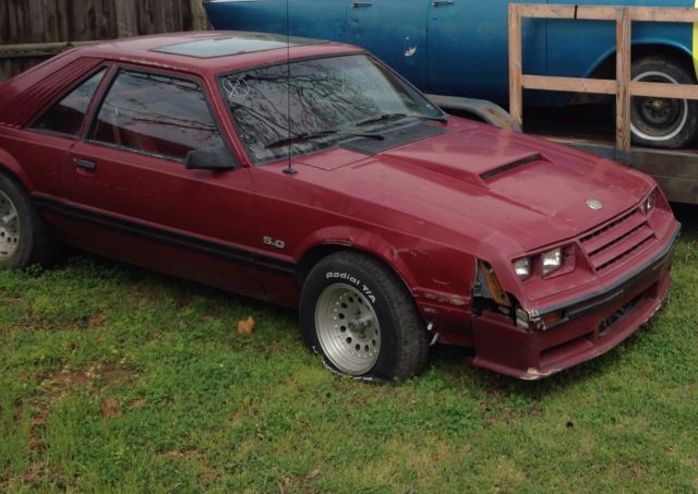 1982 Mustang Gt Very Rare Fox Body Classic Ford Mustang 1982