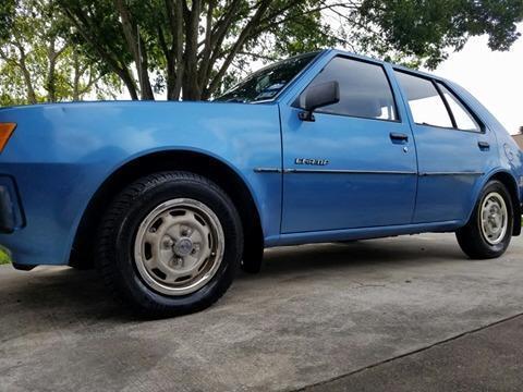 1982 Plymouth Champ 5 Door Hatchback Mitsubishi Dodge