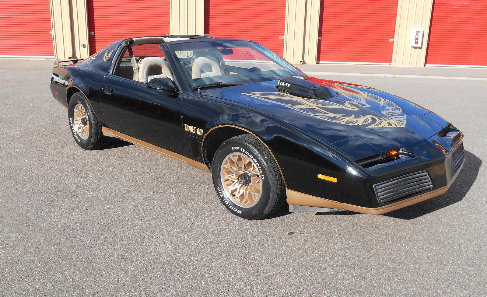 1982 pontiac firebird trans am coupe 2 door 5 0l trans am classic pontiac firebird 1982 for sale. Black Bedroom Furniture Sets. Home Design Ideas