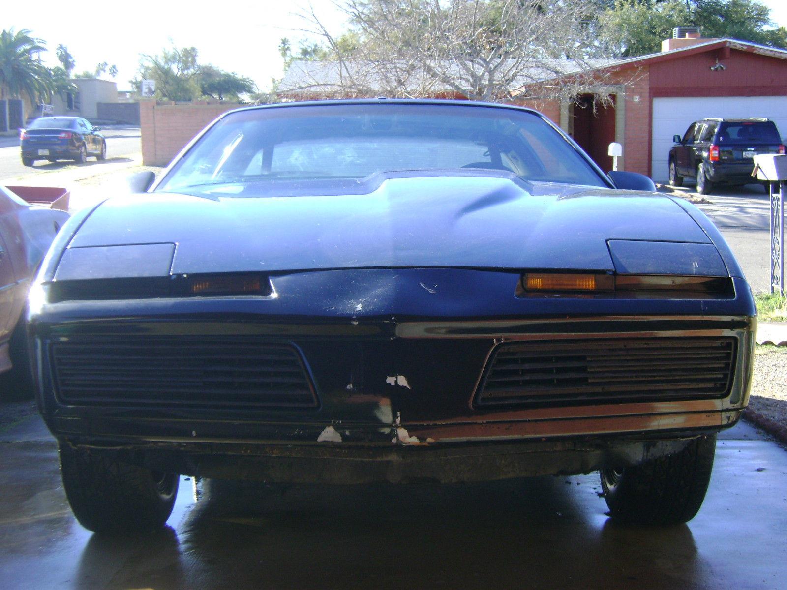 1982 pontiac firebird trans am knight rider car classic pontiac trans am 1982 for sale. Black Bedroom Furniture Sets. Home Design Ideas