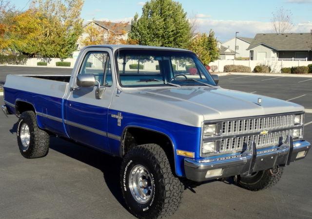 1982 Silverado K10 4x4 6.2 Diesel. Rare. 51k original ...