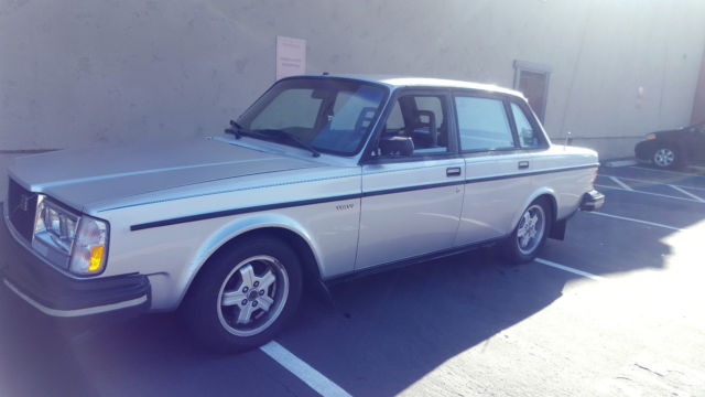 1982 Volvo 240 Turbo - Classic Volvo 240 1982 for sale