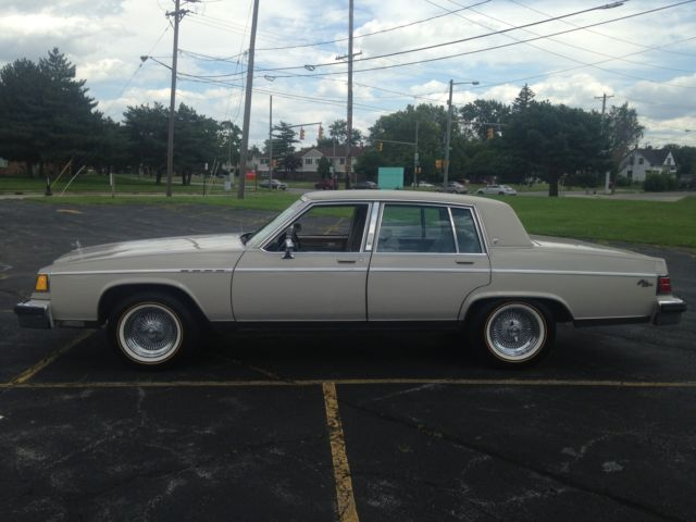 1983 Buick Electra Park Avenue Sedan 4 Door 5 0l No