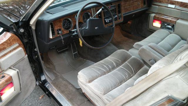 1983 Buick Park Avenue Limited Electra 2 Door Black Low