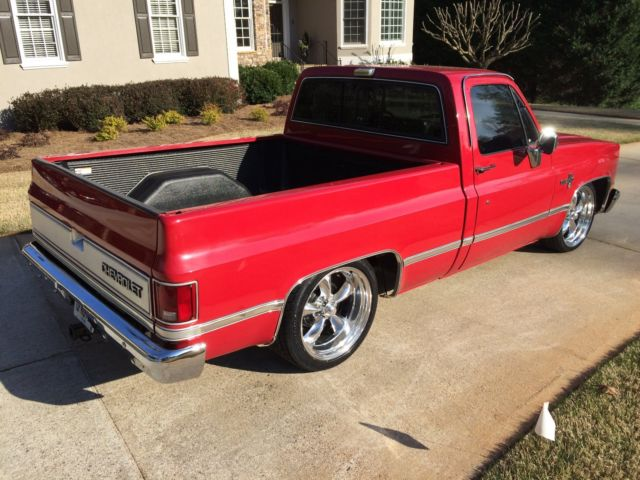 1983 C10 Chevy Short Bed Silverado Red 20 Quot Americans