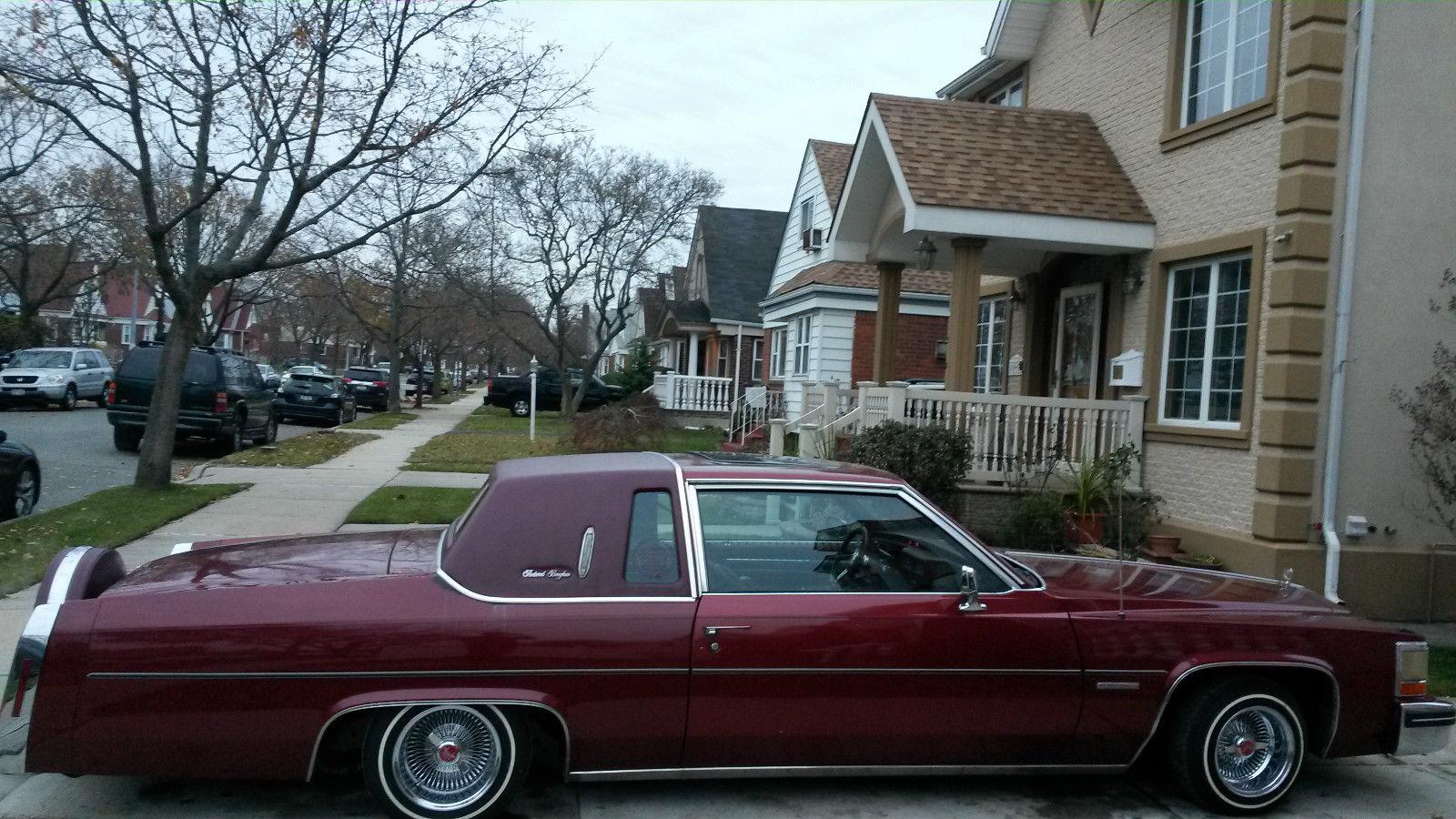 1983 Cadillac Deville Base Coupe 2 Door 41l Classic 1978 Sedan 4 Lowirder