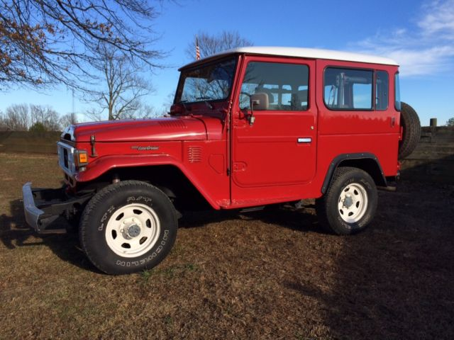 1983 Canadian Bj42 Diesel Toyota Land Cruiser Classic