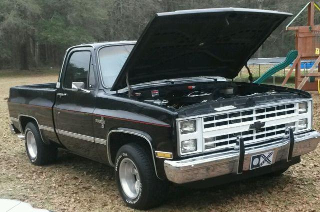 1983 chevrolet silverado c10 pickup truck classic chevrolet c 10 rh smclassiccars com 1985 Chevy 4x4 Lifted Truck Chevy Truck On Irocs