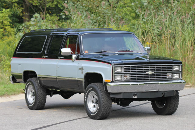 1983 chevrolet suburban silverado sport utility 4 door 6. Black Bedroom Furniture Sets. Home Design Ideas