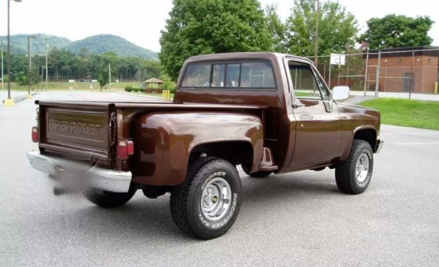 1983 Chevy Chevrolet Step Side 4x4 C K Pickup C10 Truck