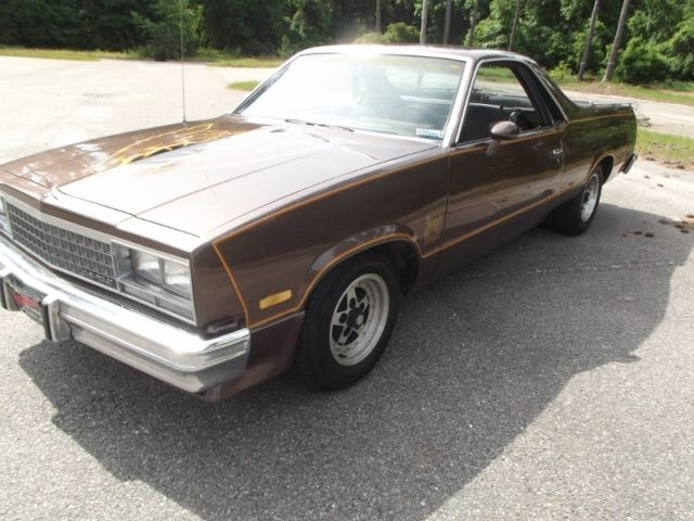 Used Cars For Sale In Charleston Sc >> 1983 CHEVY EL CAMINO SS WITH Z16 ROYAL KNIGHT OPTION ...