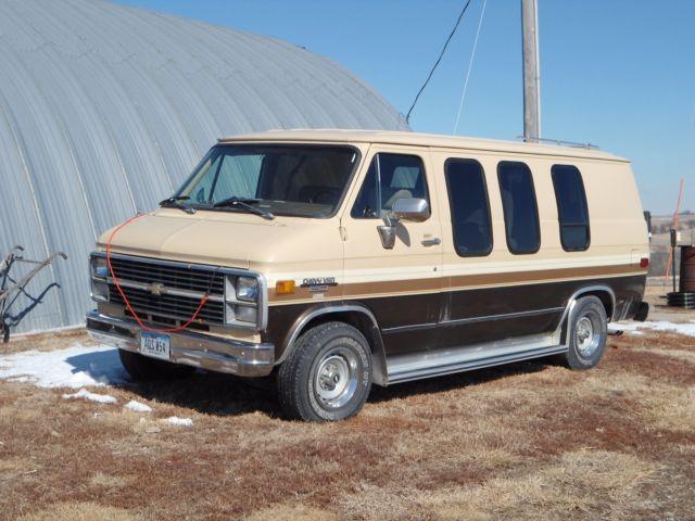 1983 Chevrolet G20 Van