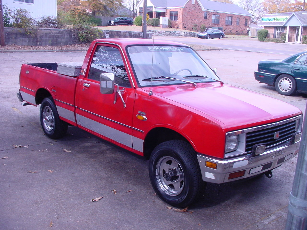 1983 chevy luv diesel 4x4 4wd nice isuzu pup classic chevrolet other pickups 1983 for sale. Black Bedroom Furniture Sets. Home Design Ideas