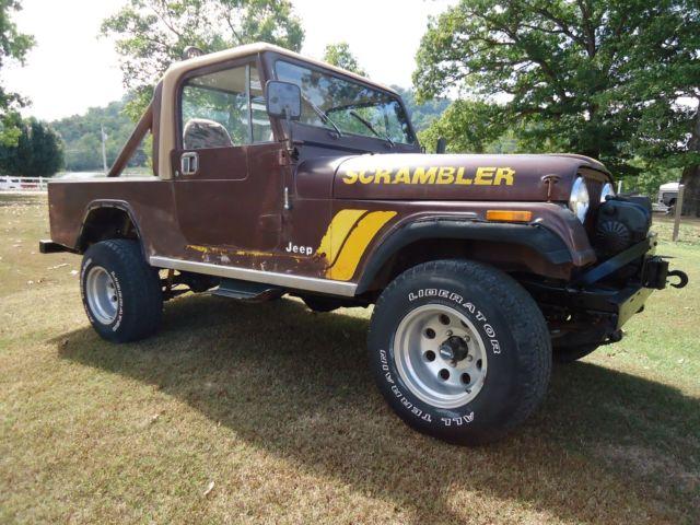 1983 CJ8 Scrambler 6Cyl 5 speed in good condition ...