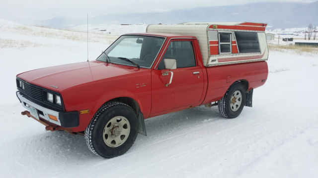 1983 dodge d 50 turbo diesel 4x4 pickup truck 4d55t 4 cyl mitsubishi mighty max classic dodge. Black Bedroom Furniture Sets. Home Design Ideas