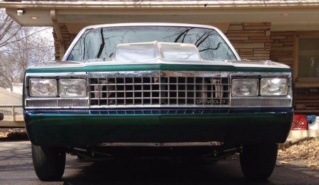 1983 el camino drag car 800 horse custom - Classic Chevrolet