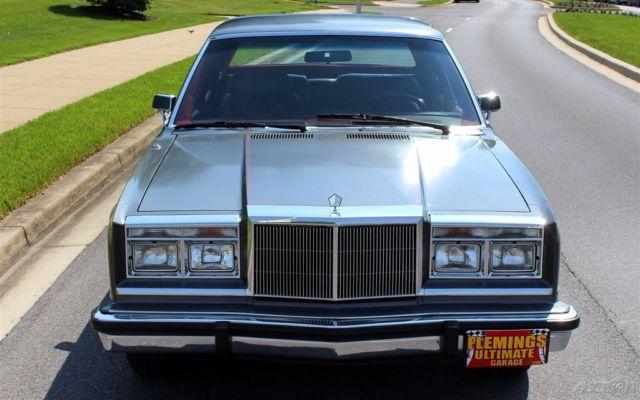1983 CHRYSLER NEW YORKER FIFTH AVENUE - OUTSTANDING ...  |1983 Chrysler New Yorker Interior