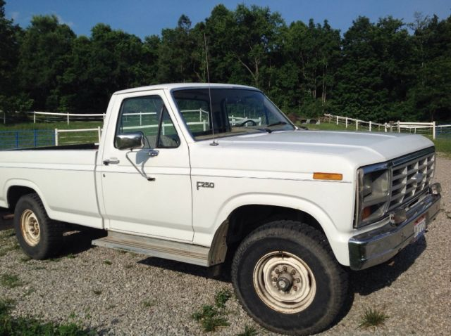 1983 ford f 250 4 wd 8 foot bed classic ford f 250 1983 for sale. Black Bedroom Furniture Sets. Home Design Ideas