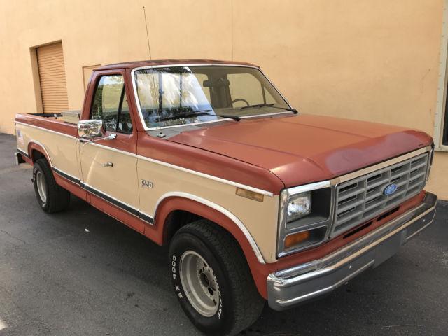 1983 ford f150 classic truck runs drives needs tlc 6 cyl manual transmission classic ford f. Black Bedroom Furniture Sets. Home Design Ideas