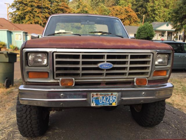 1983 ford f150 new rims and tires sound system manual straight six engine classic ford f. Black Bedroom Furniture Sets. Home Design Ideas