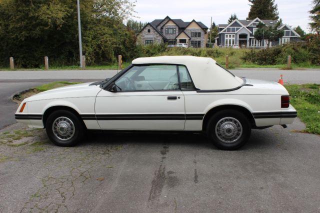 1983 ford mustang glx survivor car 18000 original miles for Ford motor vehicle models
