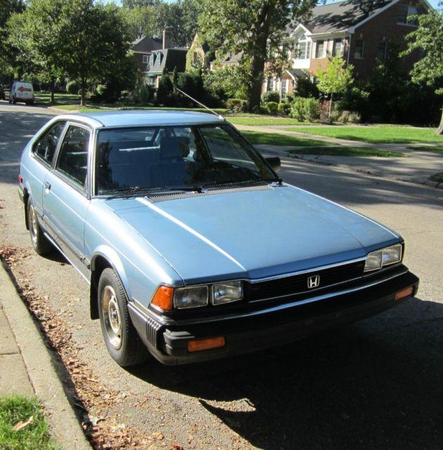 1983 Honda Accord Auto 2-Door Hatchback 30+MPG Very Clean