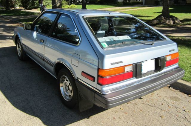 Used Cars For Sale In Oklahoma >> 1983 Honda Accord Auto 2-Door Hatchback 30+MPG Very Clean ...