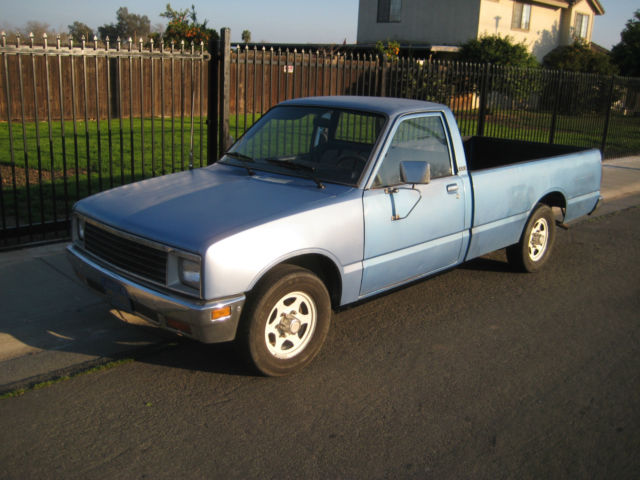1983 isuzu p 39 up dlx diesel pickup truck 35mpg longbed 5spd. Black Bedroom Furniture Sets. Home Design Ideas