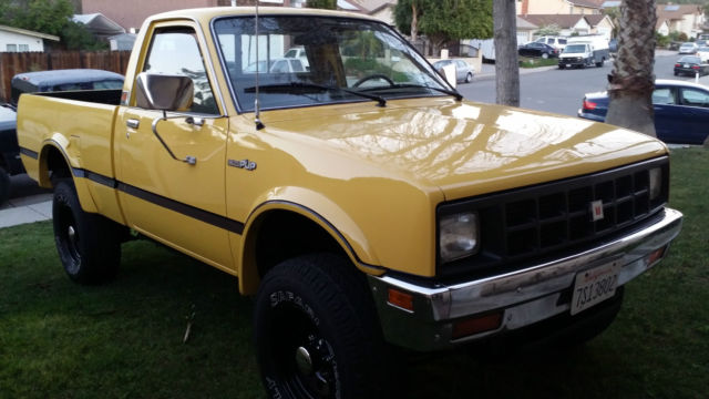1983 isuzu pup diesel 4x4 classic isuzu other 1983 for sale. Black Bedroom Furniture Sets. Home Design Ideas