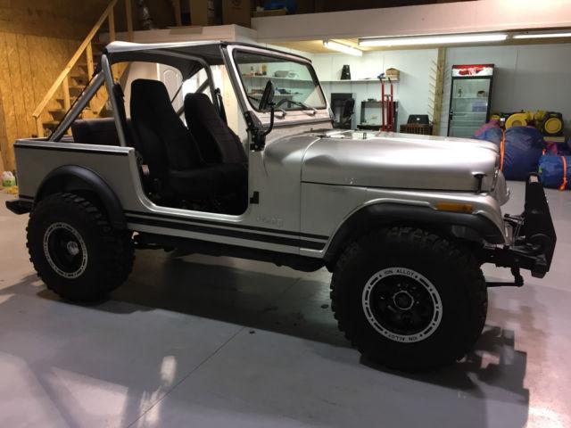 1983 jeep cj cj7 4x4 soft top custom frame off restoration for Cj custom homes