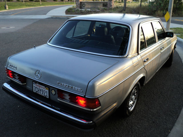 1983 mercedes 300td turbo 100 perfect mechanical no rust for 1983 mercedes benz 300td