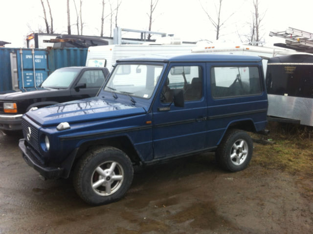 1983 Mercedes-benz 230ge G-Wagon Coupe 280 300ge g500 g550 ...