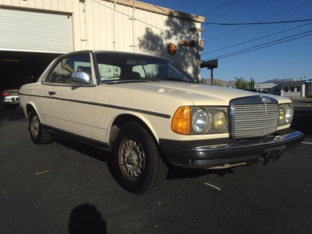 1983 mercedes benz 300cd turbo diesel 2dr coupe world for Mercedes benz turbo diesel