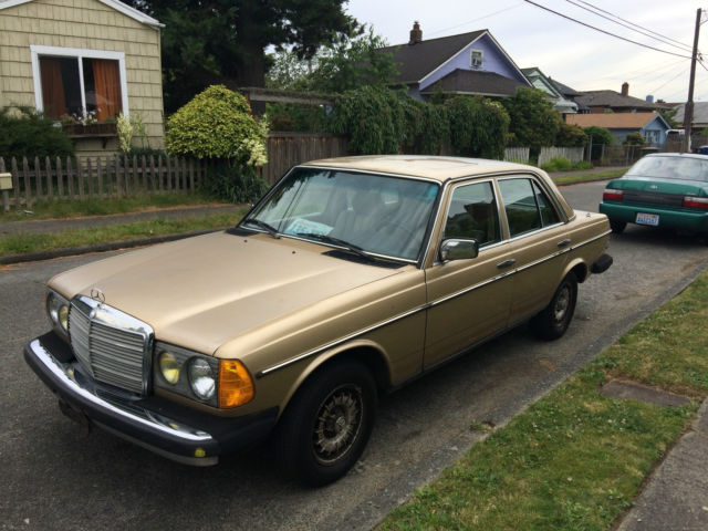 1983 mercedes benz 300d turbo diesel classic classic for Mercedes benz 300 diesel
