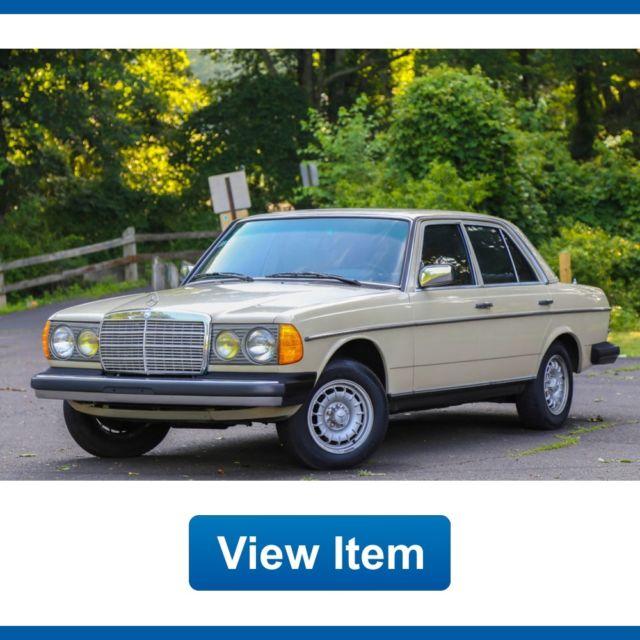 1983 mercedes benz 300d turbo diesel super low 78k mi for Mercedes benz diesel for sale in florida