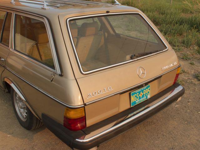 1983 mercedes benz 300td turbo diesel wagon classic for Mercedes benz turbo diesel